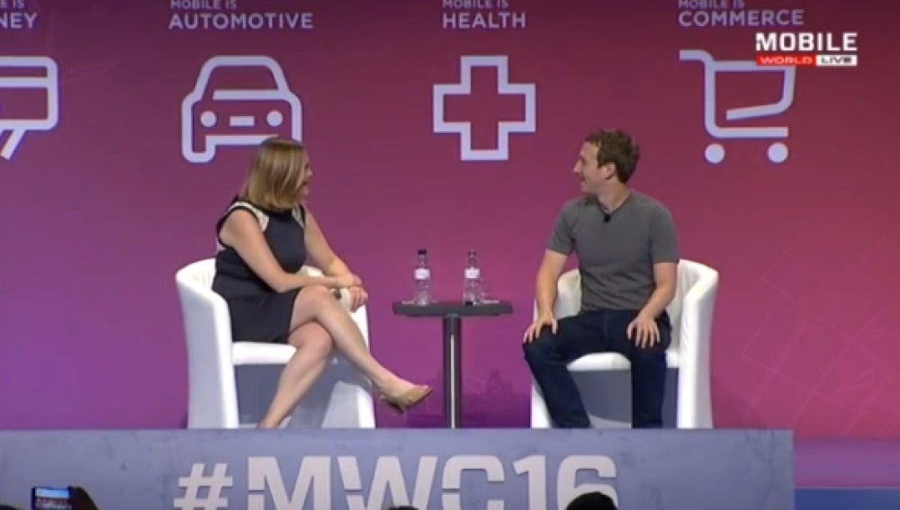 Mark Zuckerberg en el #MWC16