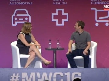 Mark Zuckerberg en el #MWC16