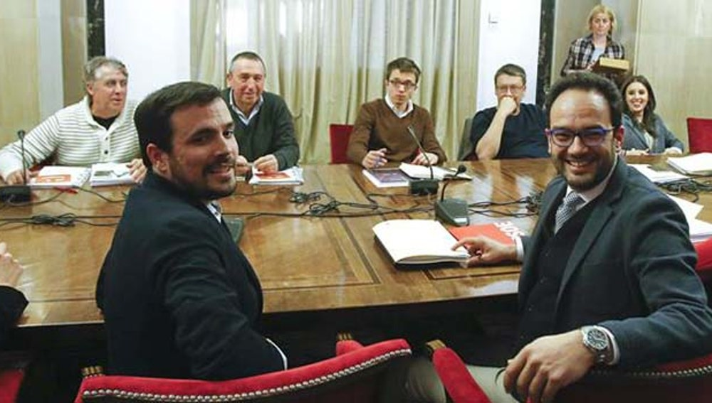 Acaba sin acuerdo la reunión entre Podemos, IU, PSOE y Compromís