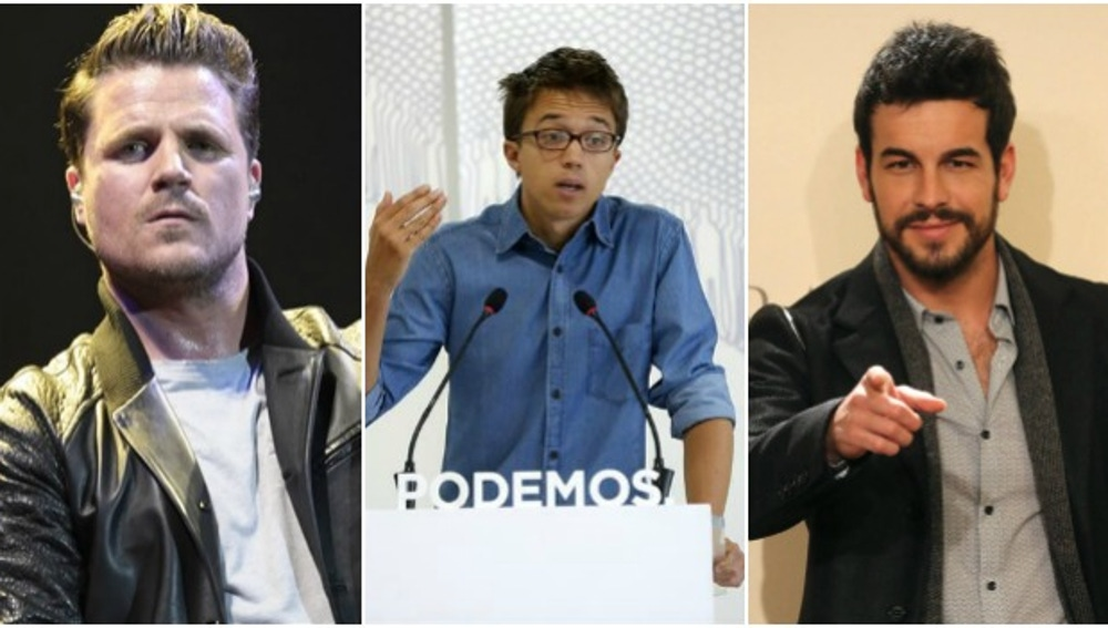 Dani Martín, Errejón y Mario Casas, contra la violencia machista