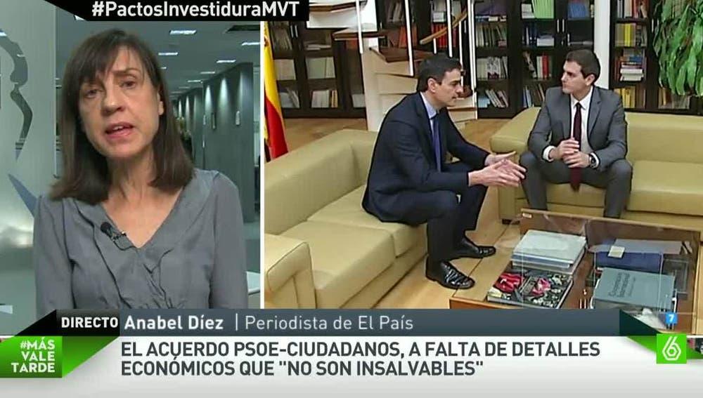 Anabel Díez, periodista de El País