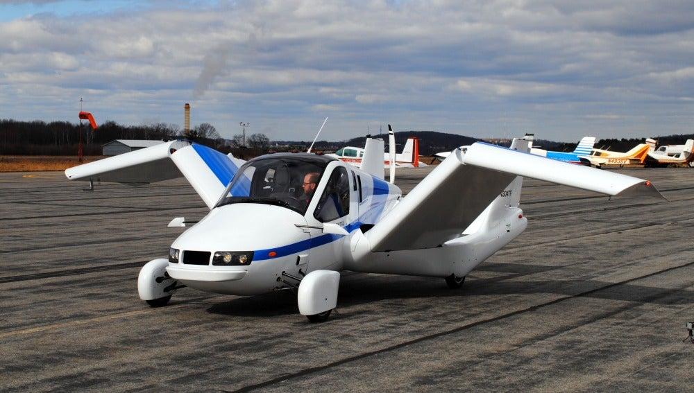 Uno de los prototipos creados por la empresa Terrafugia