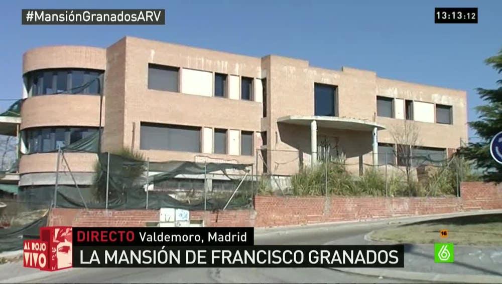 El chalet de Francisco Granados en Valdemoro