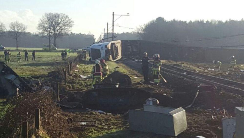 Accidente de tren en Dalfsen, Holanda