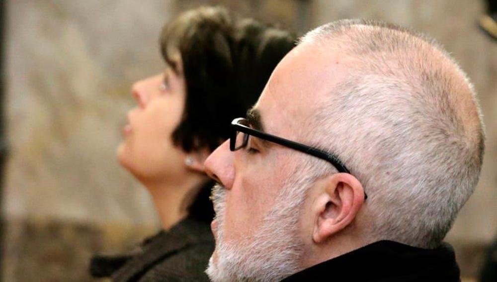 Fernando Basterra y Rosario Porto ante el Tribunal Superior de Justicia de Galicia