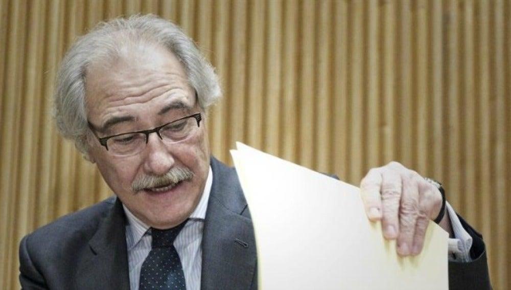El expresidente de Caja Castilla la Mancha, Juan Pedro Hernández Moltó