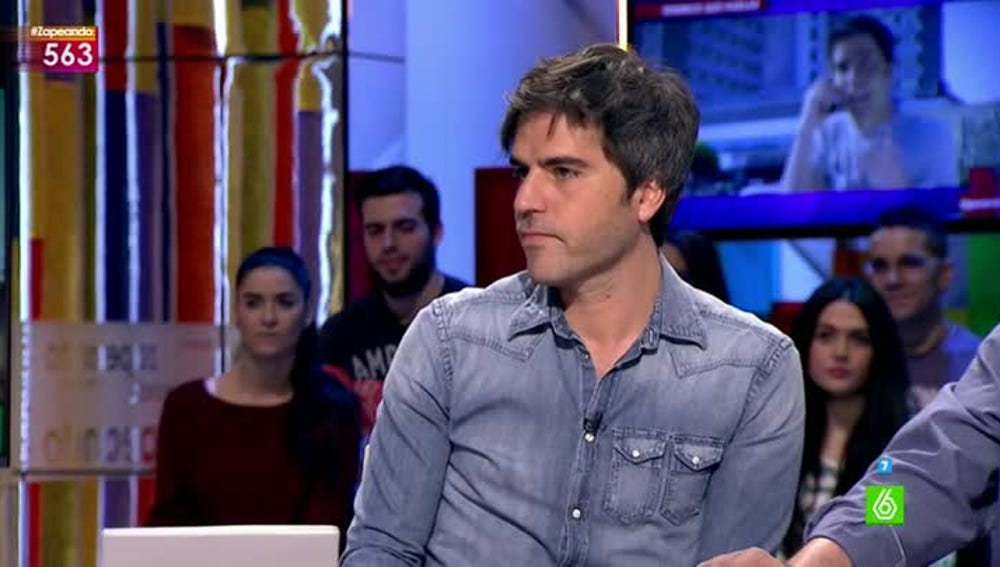 Ernesto Sevilla, en Zapeando