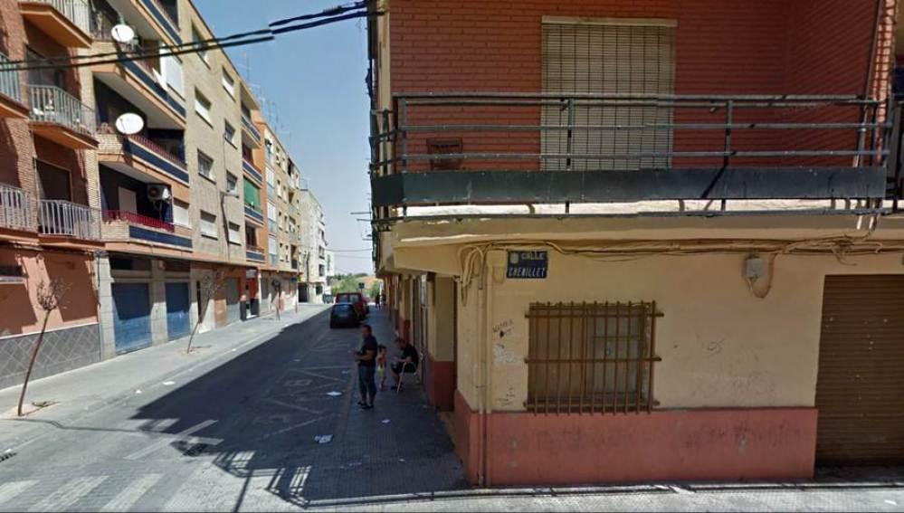 Imagen del barrio de Xenillet de Torrent, donde se produjo el tiroteo