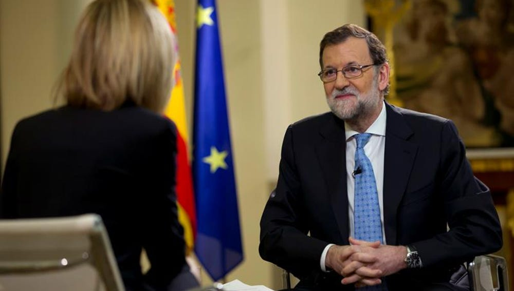 Mariano Rajoy en Espejo Público