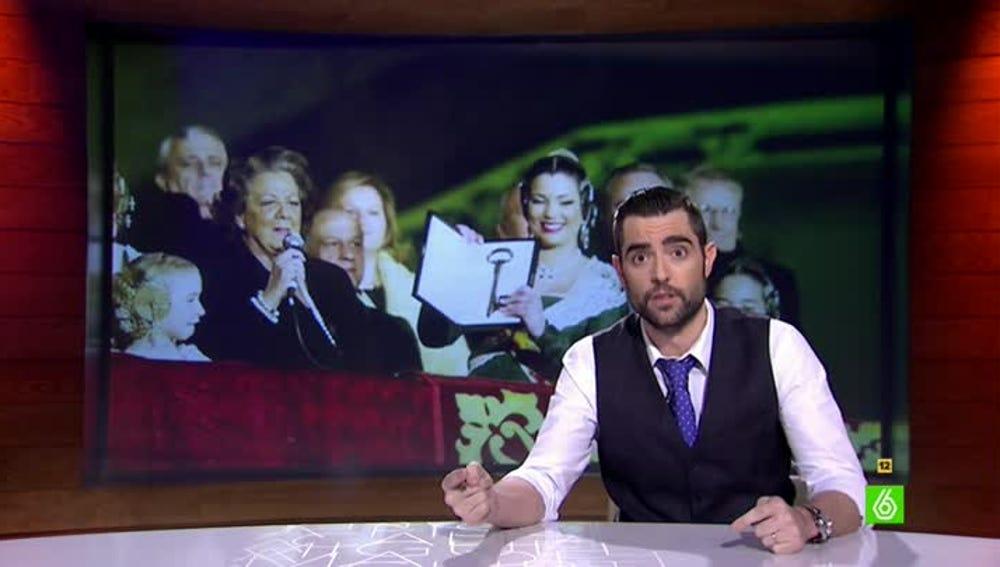 Dani Mateo analiza la salida de Rita Barberá de su casa