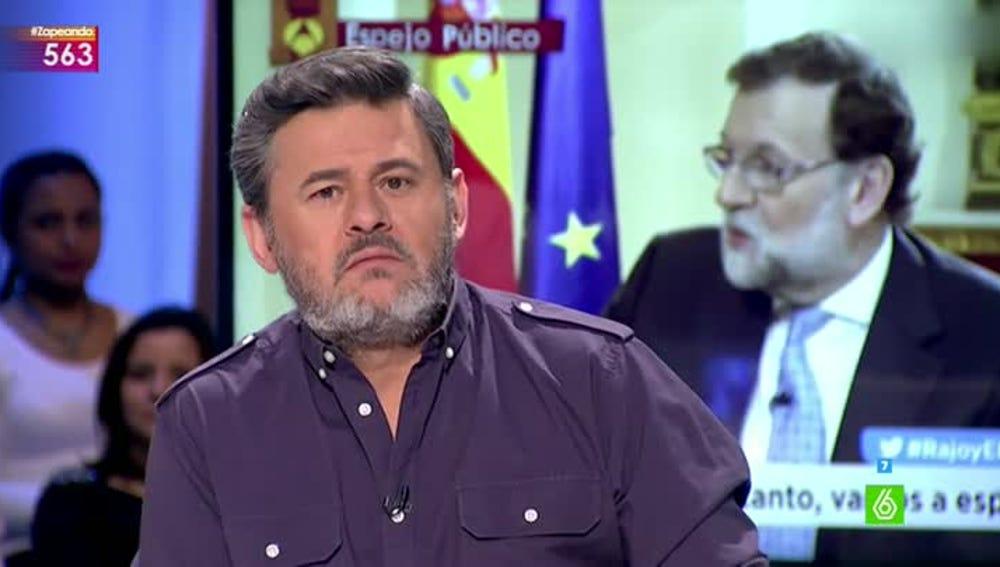 Miki Nadal comenta el lapsus de Mariano Rajoy