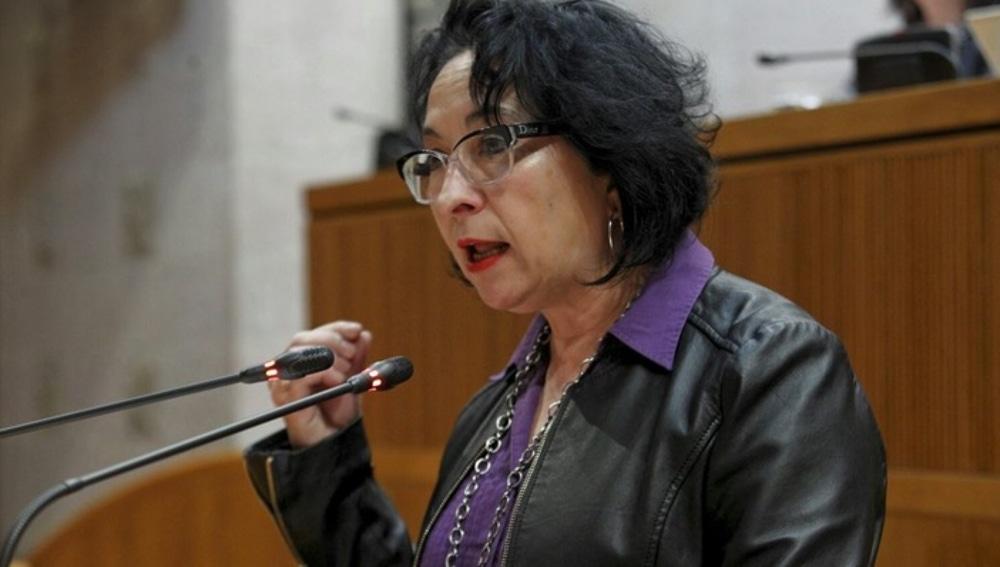 Amparo Bella, diputada de Podemos en Aragón