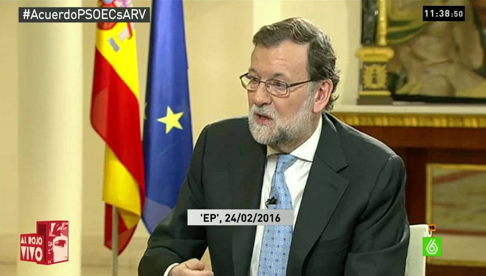 Rajoy en Espejo público