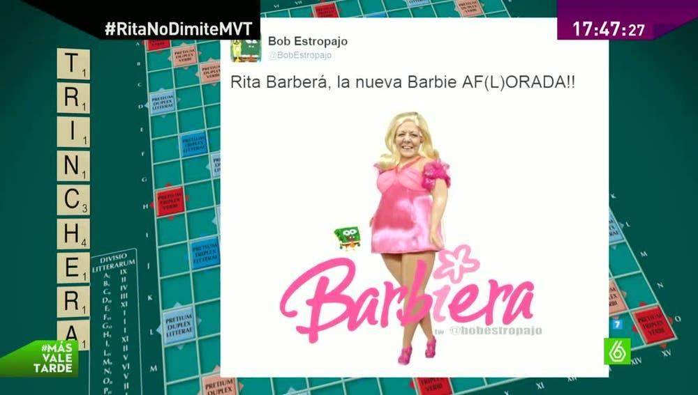 Un meme de Rita barberá