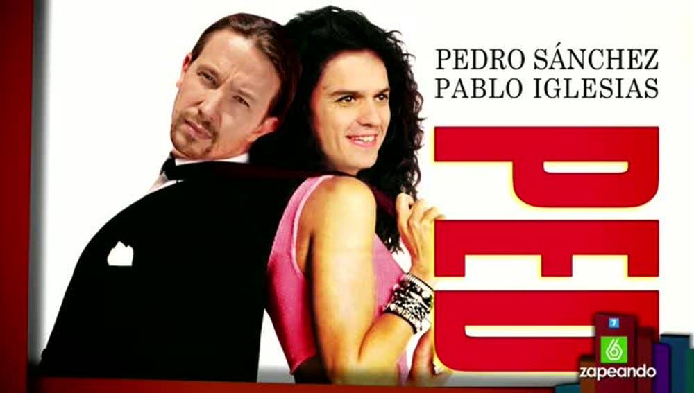 La 'historia de amor' entre Pedro Sánchez y Pablo Iglesias