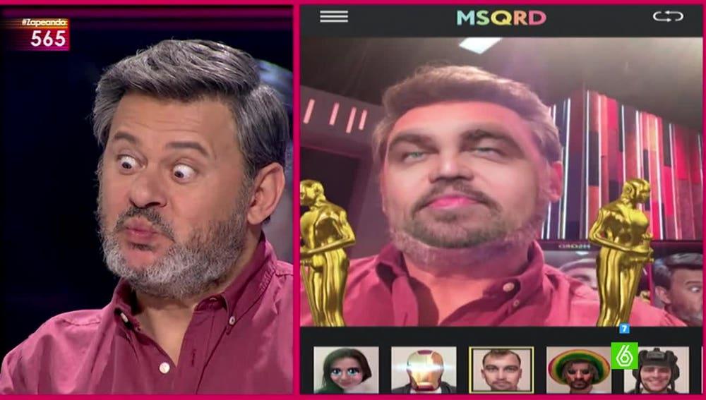 Miki Nadal se mete en la piel de Leonardo DiCaprio