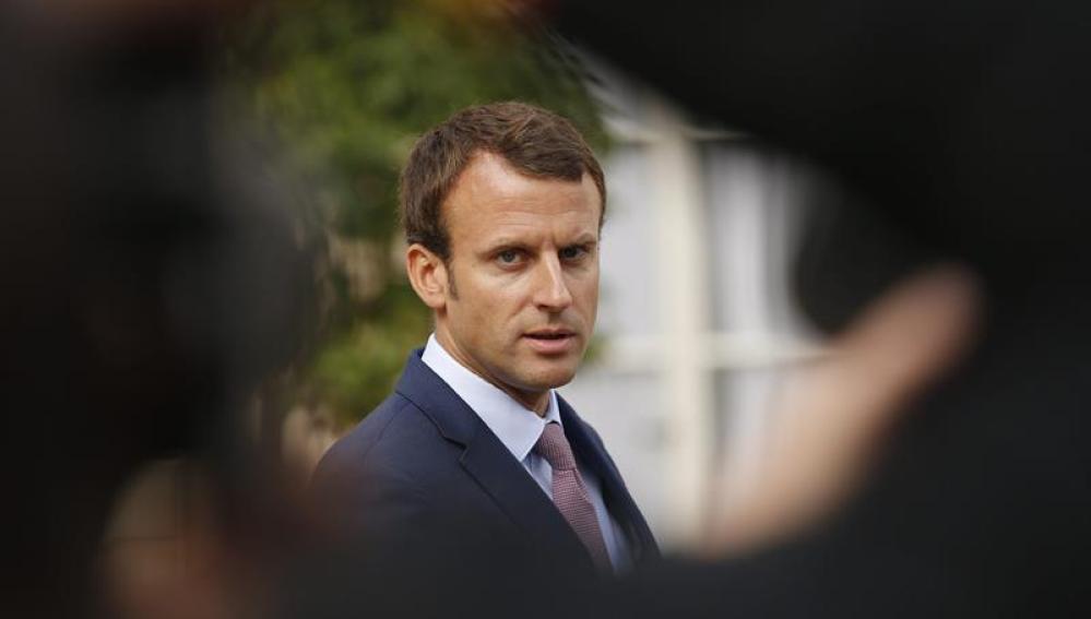 El ministro francés de Economía, Emmanuel Macron, en Francia.