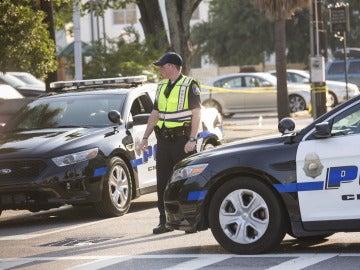 Imagen de archivo de un agente de Policía en EEUU.