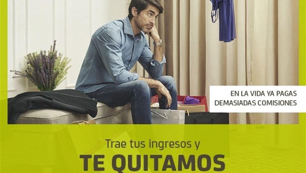 Imagen de la campaña de Bankia