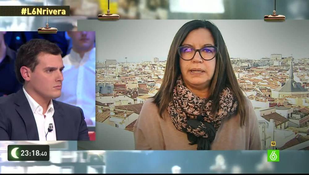 Angels Barceló pregunta a Albert Rivera en laSexta Noche