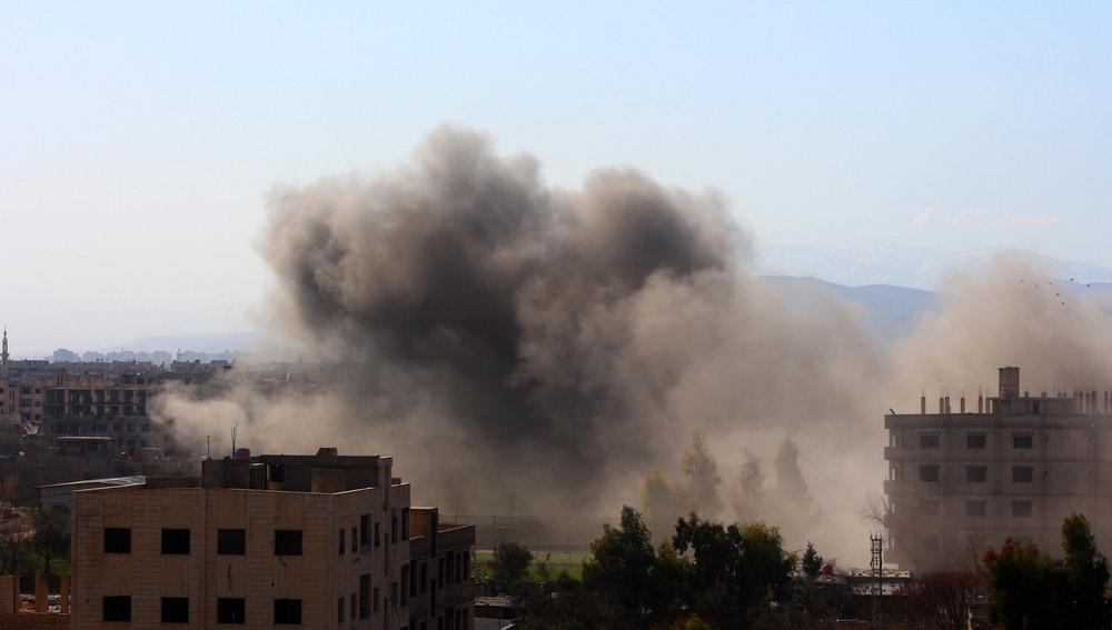 Ataques en Siria