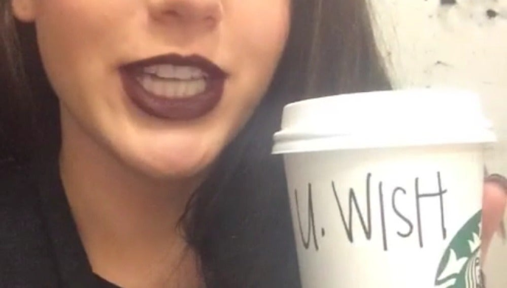 La joven que pidió el café en Starbucks