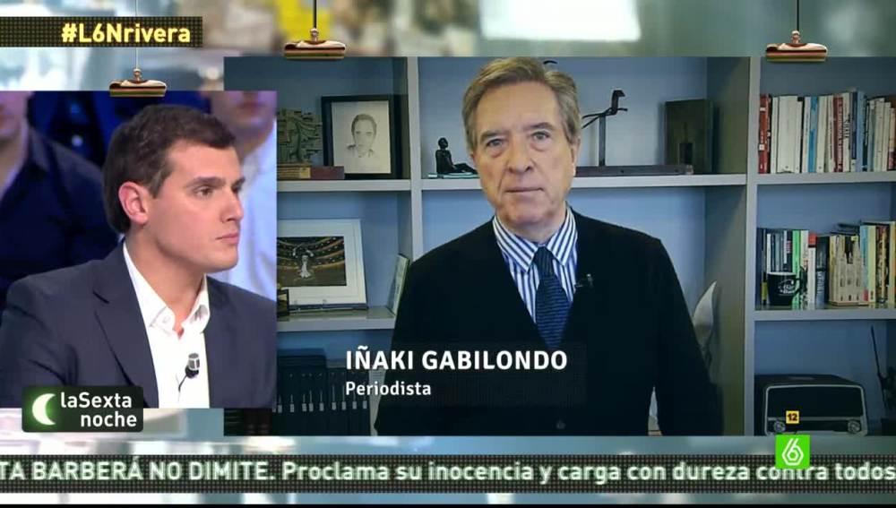 Albert Rivera responde a Iñaki Gabilondo en laSexta Noche
