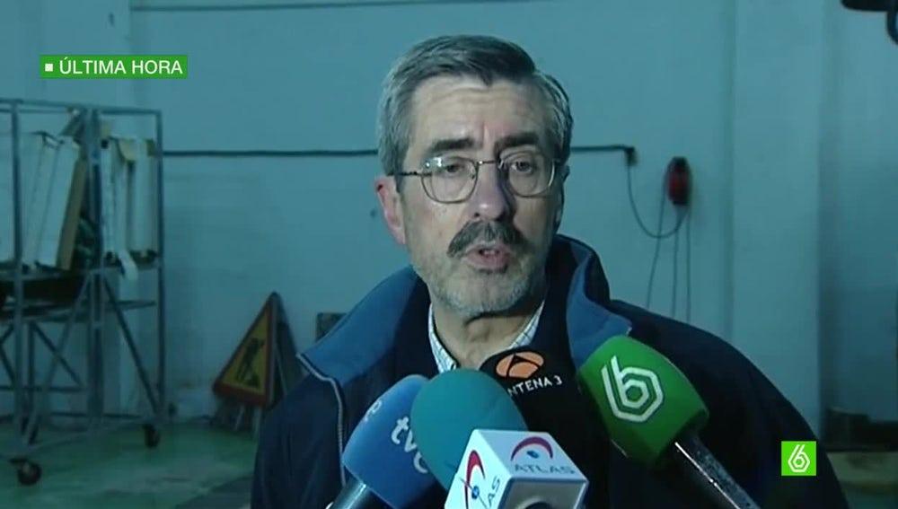 José María Ángel, jefe del dispositivo de Emergencias de Castellón