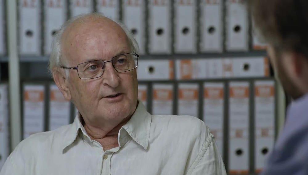 Francisco Puche, ingeniero experto en amianto