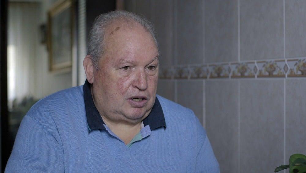 José Luís Castro, extrabajador del astillero Bazán