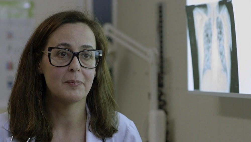 Carmen Diego, neumóloga