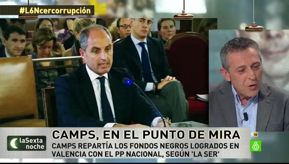 El periodista Miguel Ángel Campos, de la Cadena SER