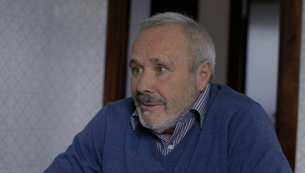 Felipe Fernández, extrabajador del astillero Astano
