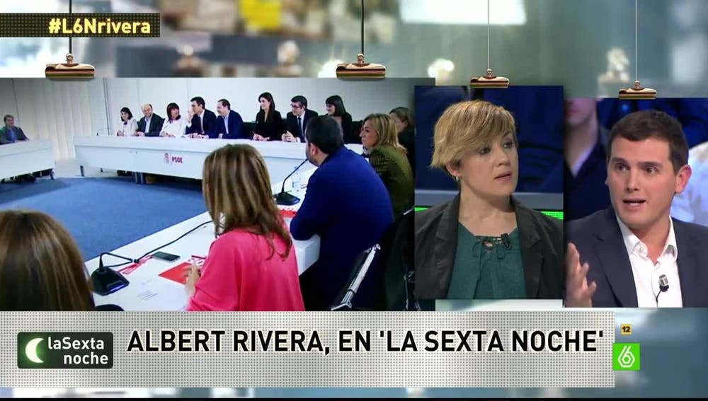 Albert Rivera, en laSexta Noche