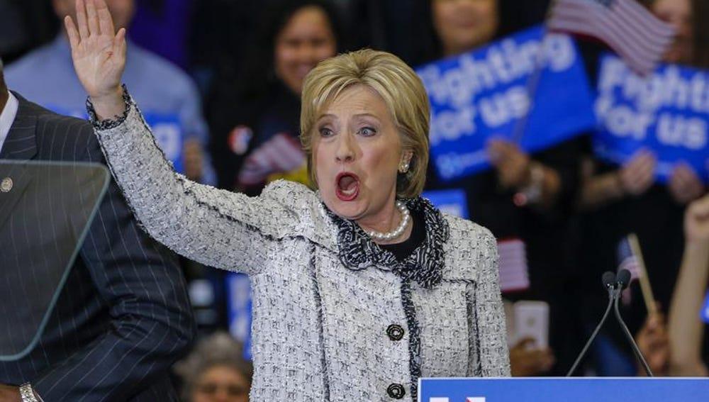 Hillary Clinton en Carolina del Sur