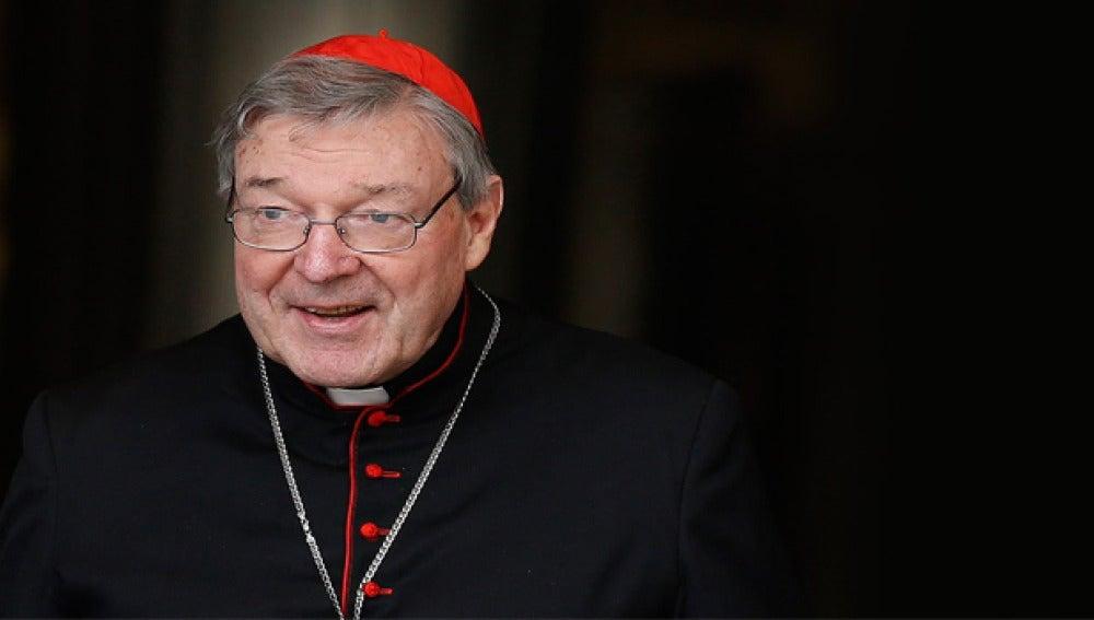 El cardenal George Pell, tesorero del Vaticano