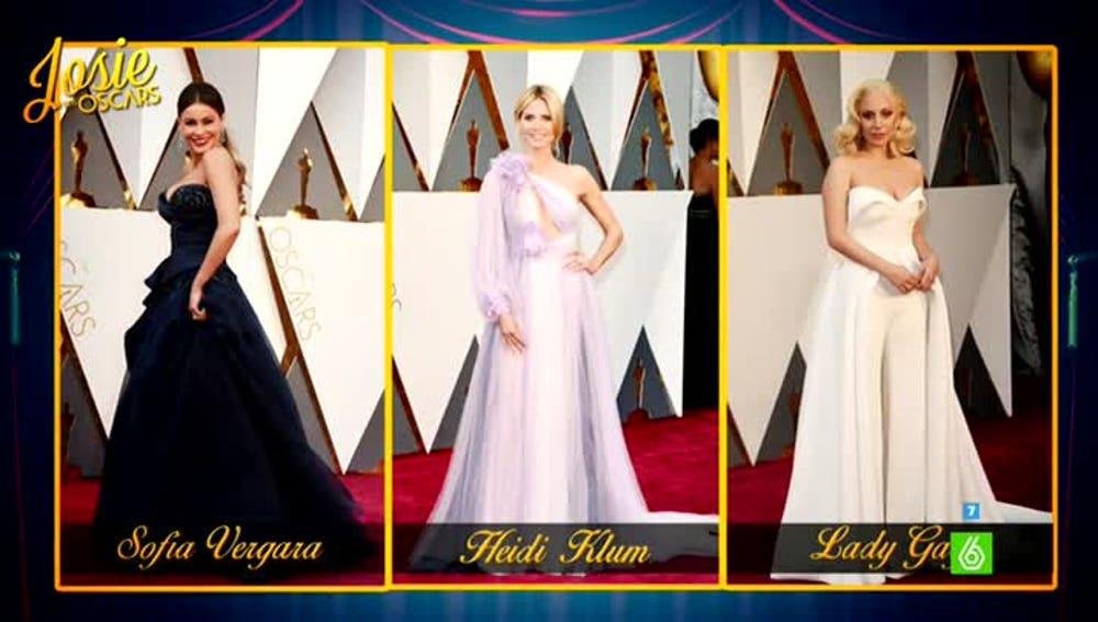 Las peor vestidas de la gala de los Oscar