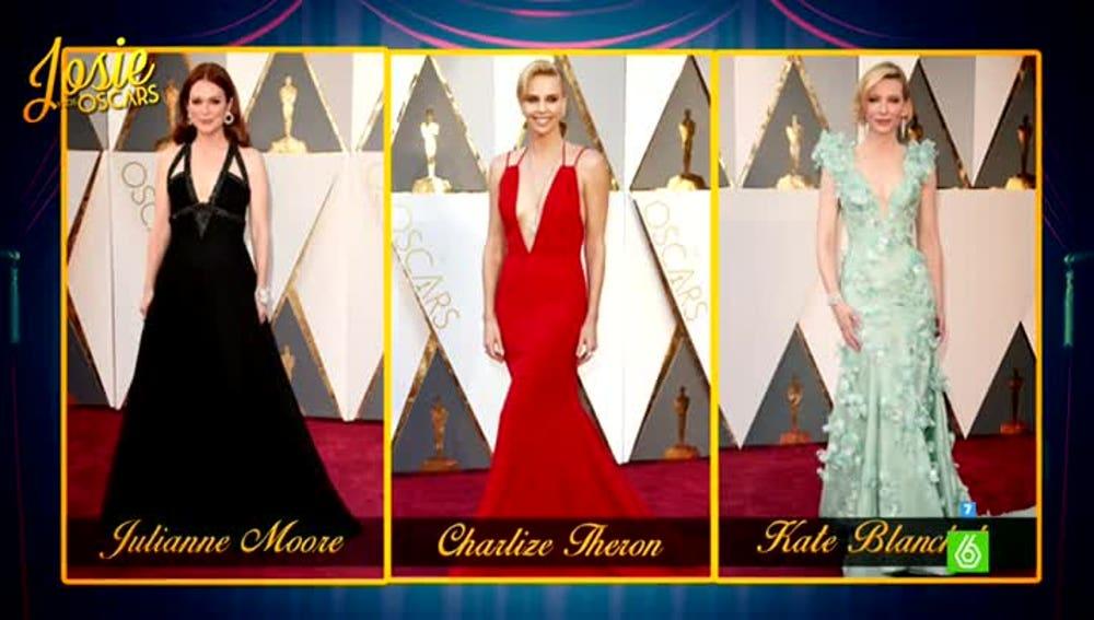 Las mejor vestidas de la gala de los Oscar