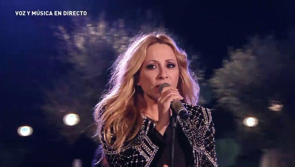 El homenaje de Marta Sánchez  a su compañero Manolo Tena despierta la emoción del compositor