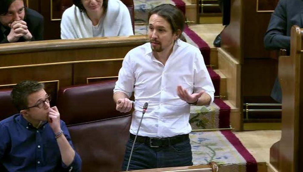 Pablo Iglesias en el Congresosa
