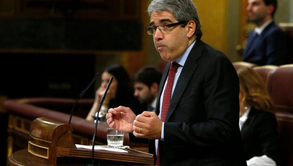 Francesc Homs, portavoz de Democràcia i Llibertat