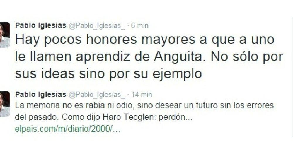 Respuesta de Iglesias a González
