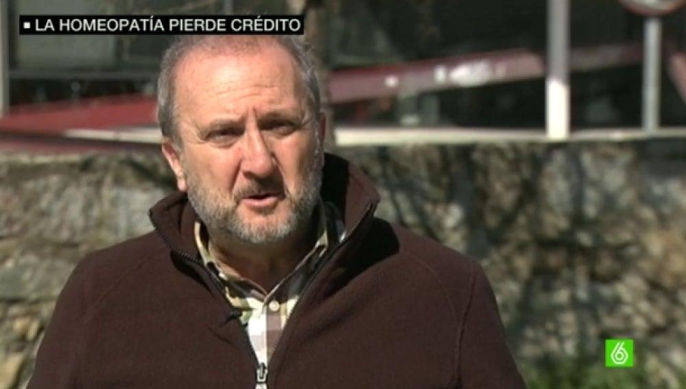Vicente Baos, médico de la plataforma 'No sin evidencia'