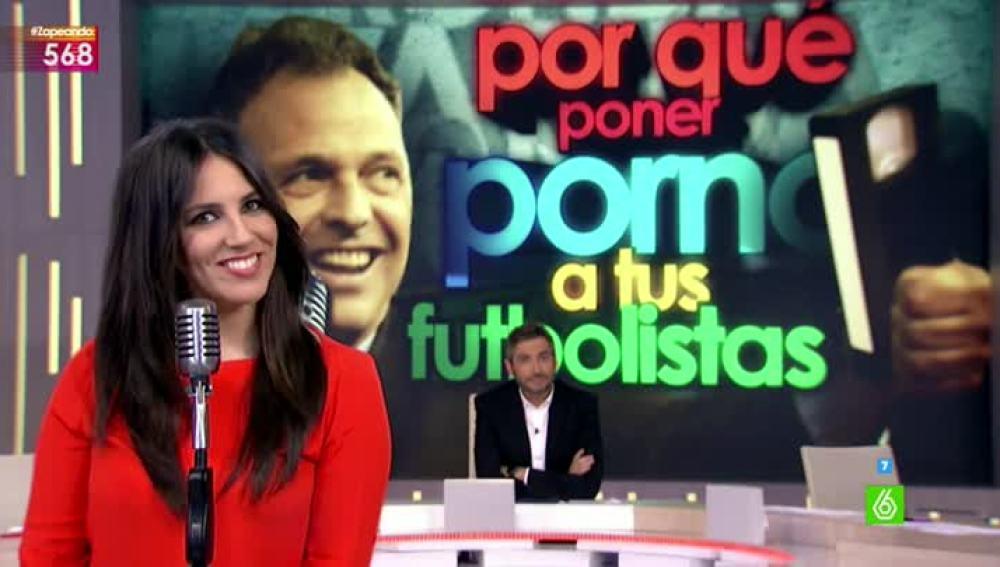 Irene Junquera, en una ronda rápida