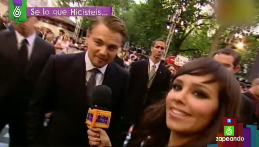 El encuentro entre Cristina Pedroche y Leonardo DiCaprio