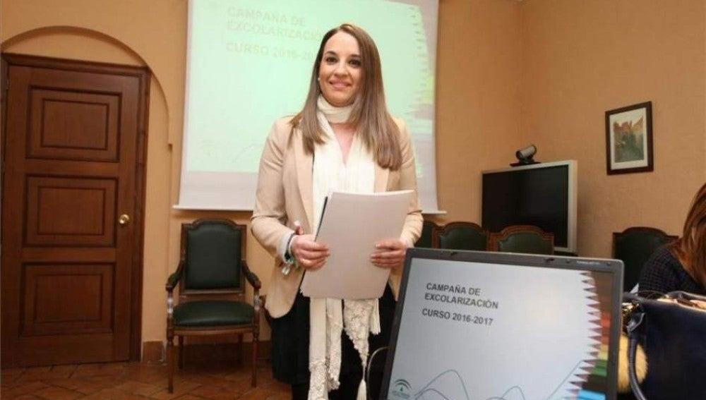 Esther Ruiz, delegada de Educación en Andalucía