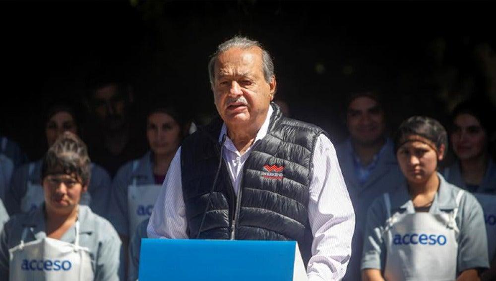 Carlos Slim en una imagen de archivo