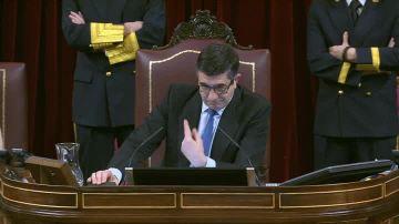 El presidente del Congreso, Patxi lópez