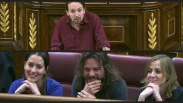Iglesias se dirige a  Levy y Vila en el Congreso