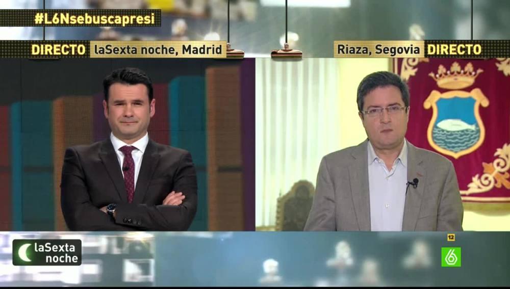 Óscar López, en laSexta Noche